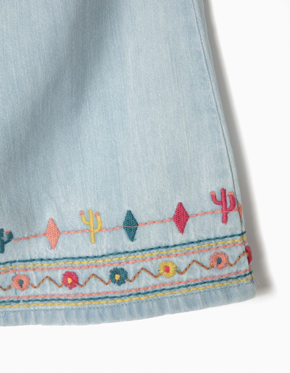 Blusa de Ganga com Bordados