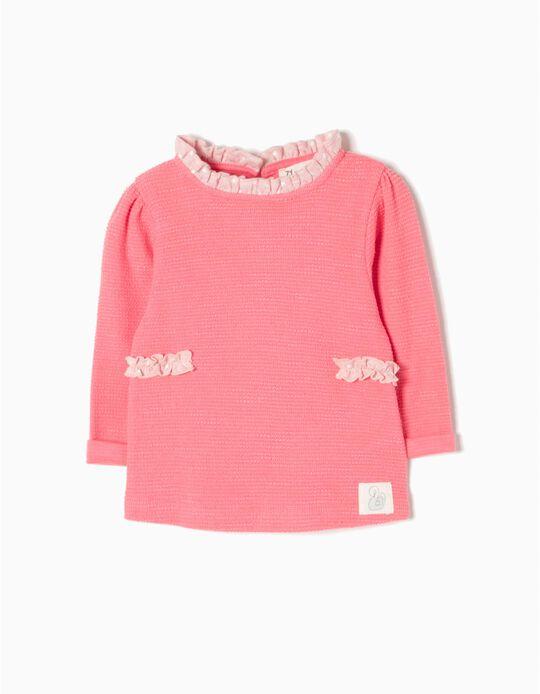 Sweatshirt Folho e Laços