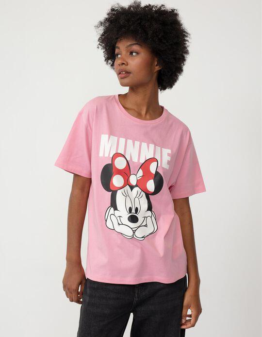 Minnie Mouse T-shirt, Women, Pink