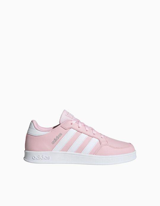 Adidas Breaknet Trainers, Girls, Pink