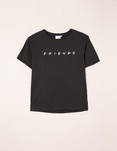 T-shirt com estampado Friends frente e verso