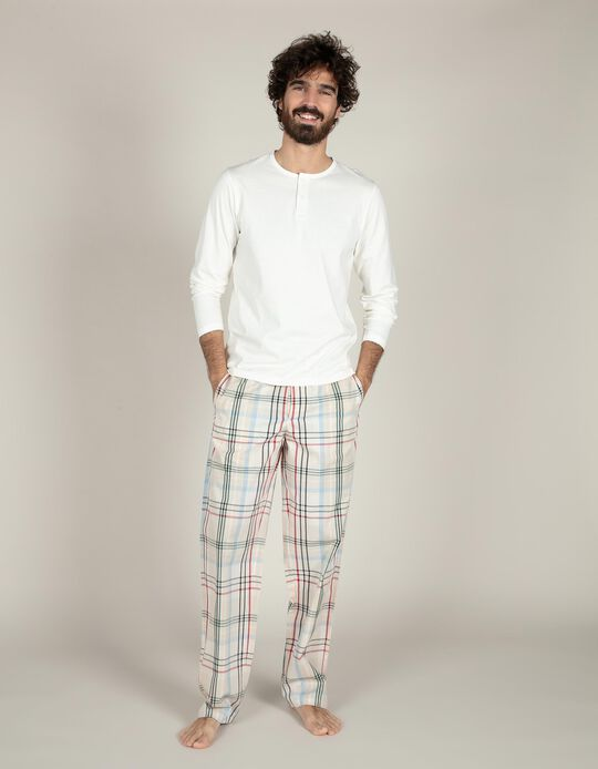 Conjunto de pijama xadrez