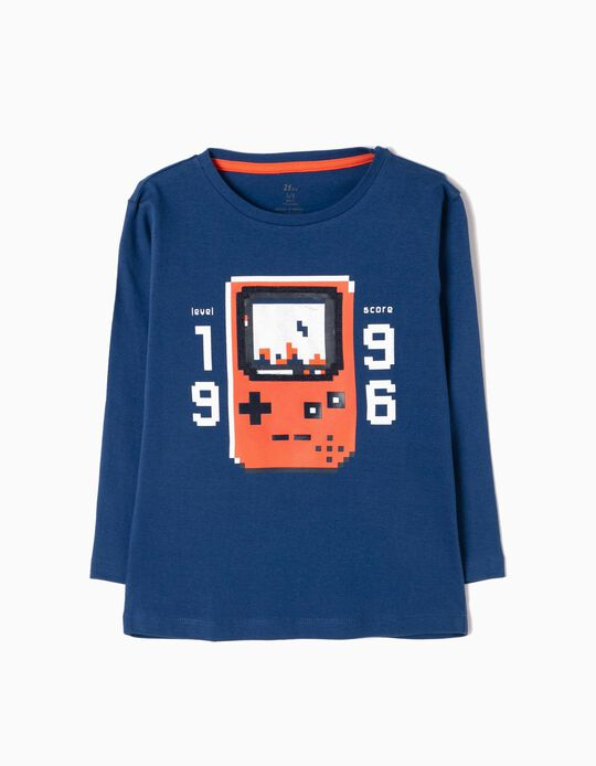 T-shirt Manga Comprida Score