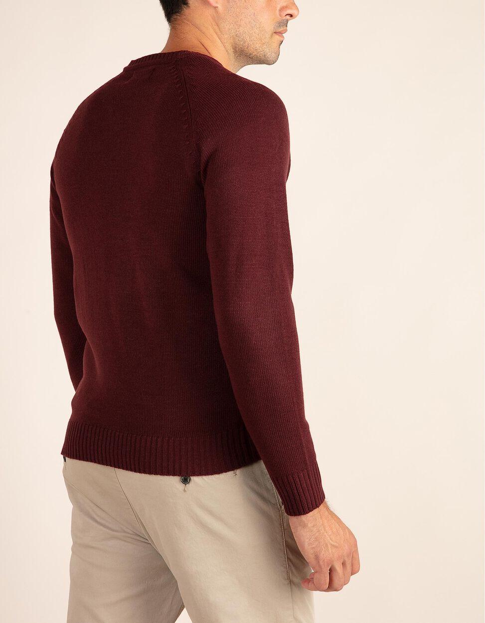 Camisola de malha lisa com decote em V da gama Essentials