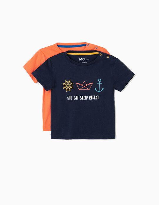 Pack 2 t-shirts básicas