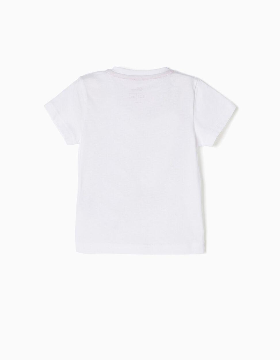 T-shirt Branca e Azul Mickey