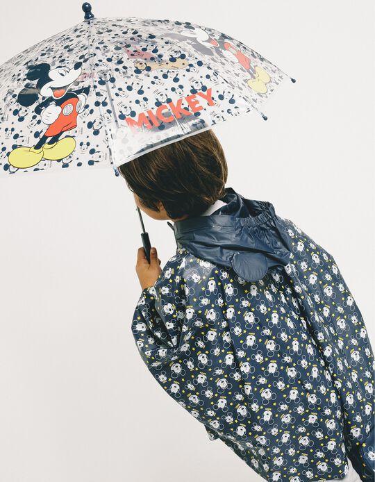 Umbrella for Boys 'Mickey', Transparent