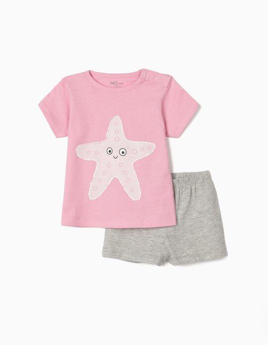 Pyjamas for Baby Girls, 'Starfish'