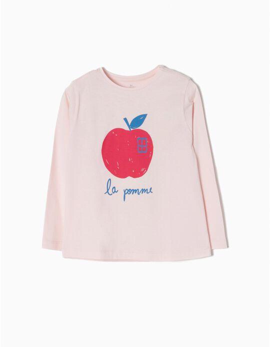 T-shirt Manga Comprida La Pomme