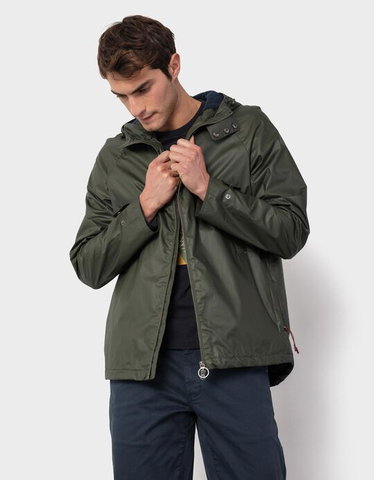 Jacket with Polar Fleece Lining, for Men