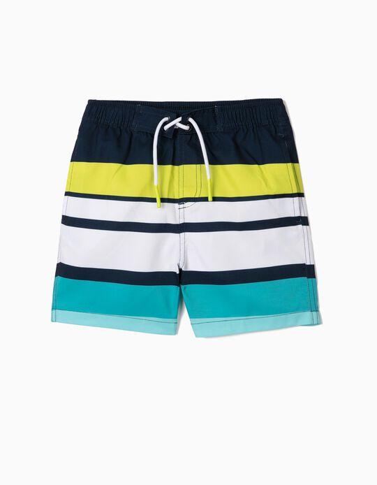 Striped Swim Shorts for Baby Boys