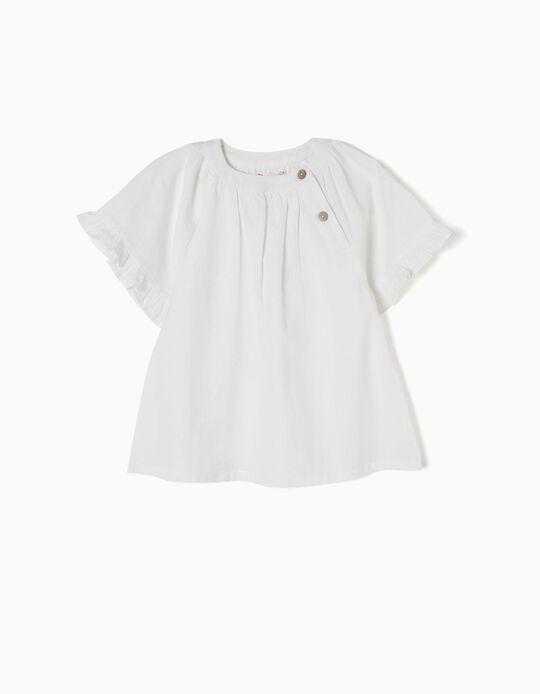 Blusa de Linho Branca