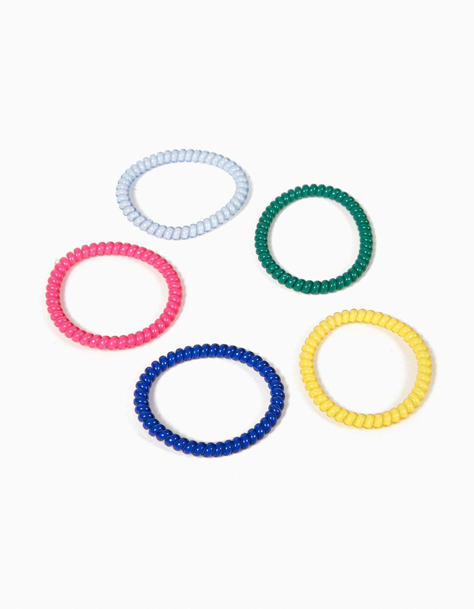 Pack de 5 Elásticos Coloridos