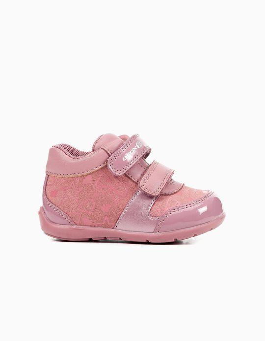 Sapatilhas rosa Geox
