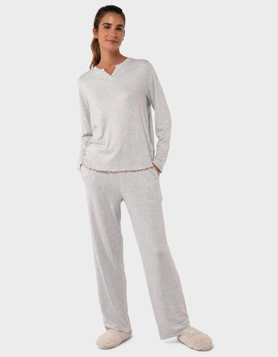 Rib Knit Pyjamas for Women
