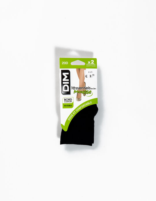 Pack of 2 Pairs of Knee Highs, Dim
