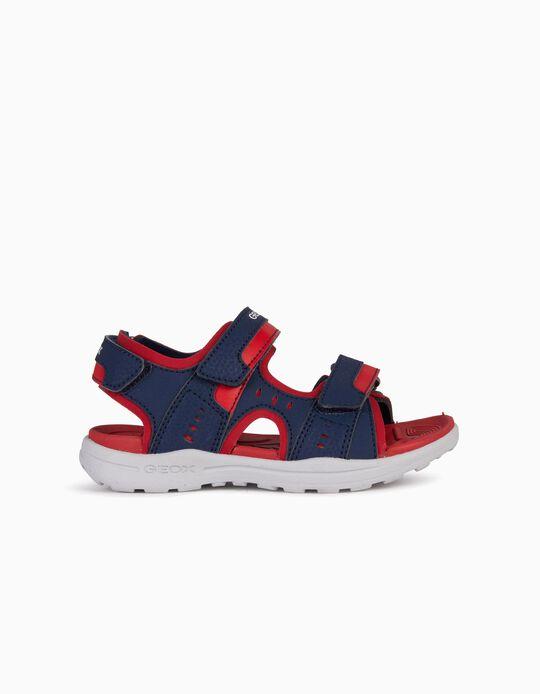 Sandálias GEOX com fecho de elásticos