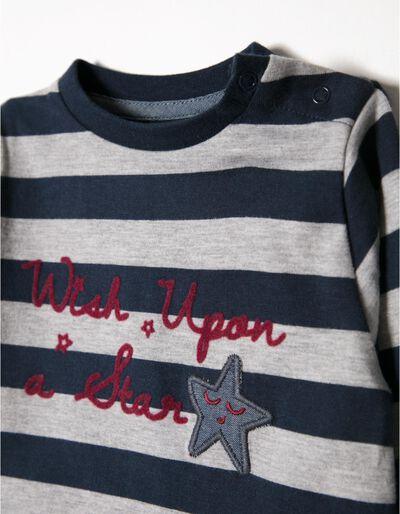 T-shirt Manga Comprida Wish