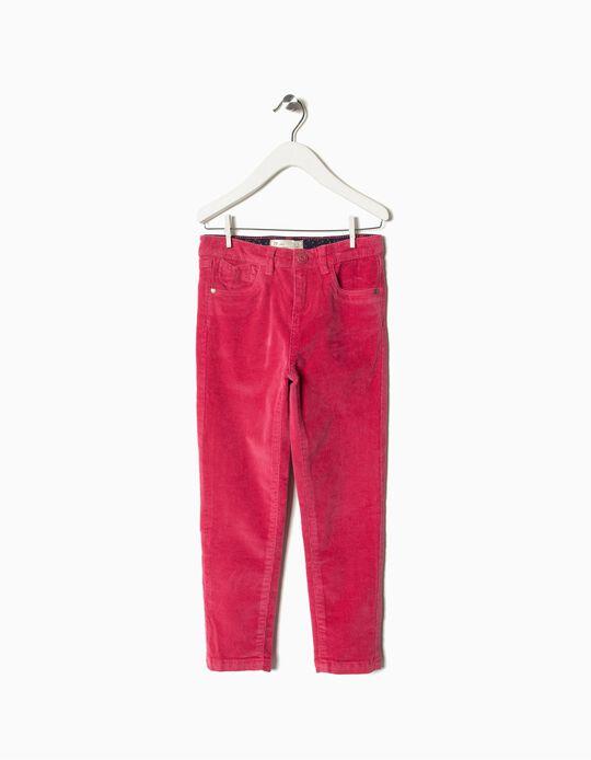 Calças Bombazine rosa