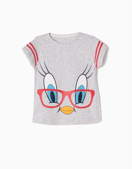 Grey T-Shirt, Tweety