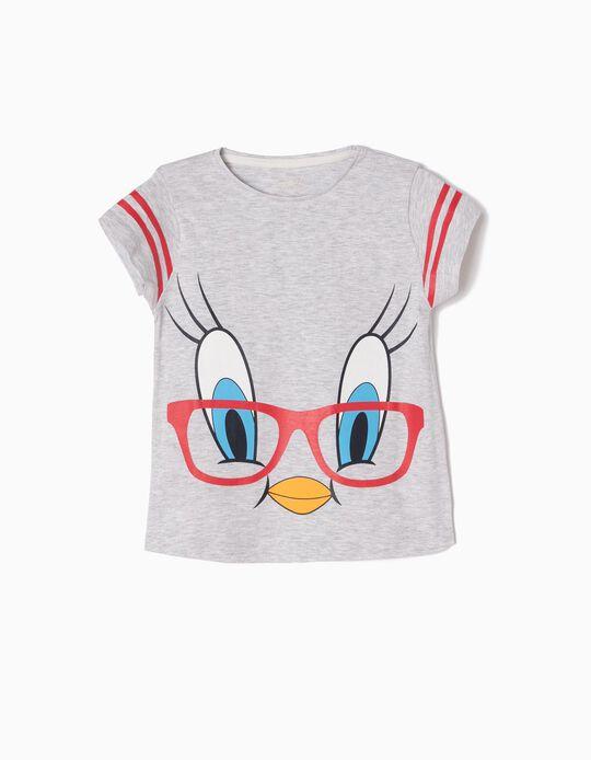 Grey T-Shirt, Tweety
