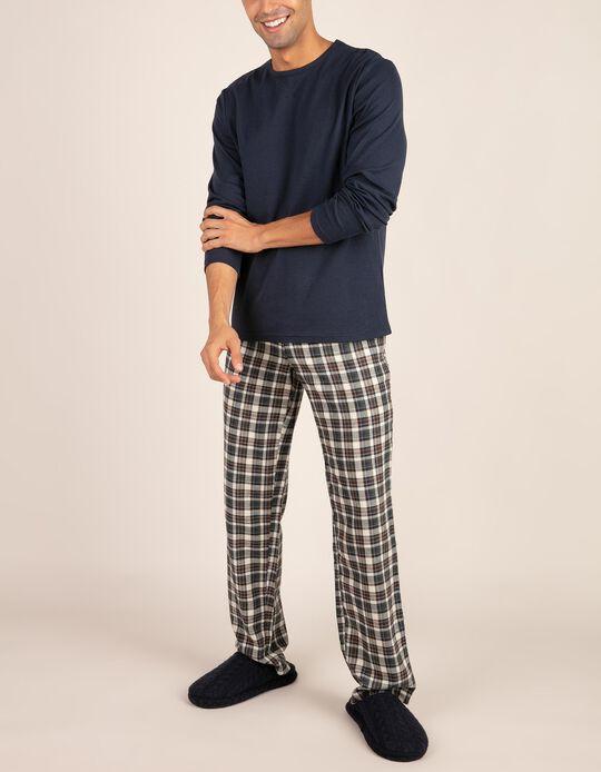 Conjunto de pijama bicolor