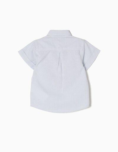 Camisa Manga Curta Riscas