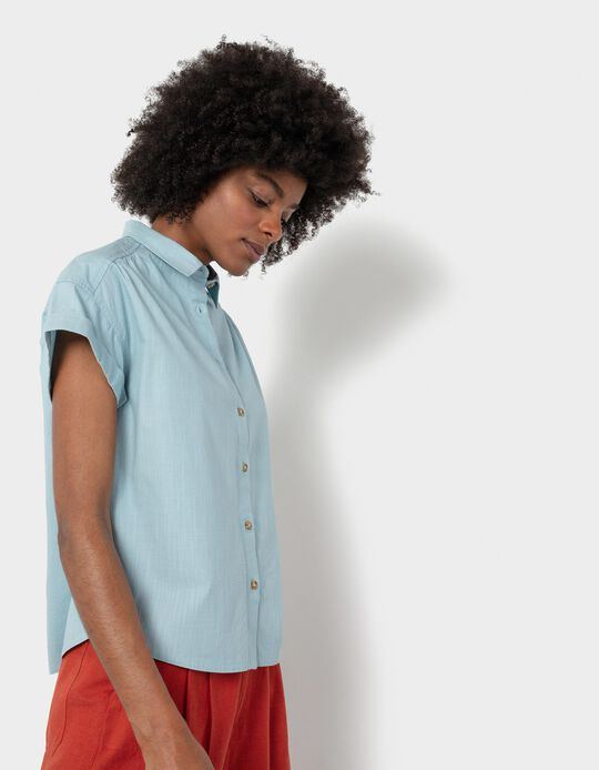 Shirt in Organic Cotton, Women