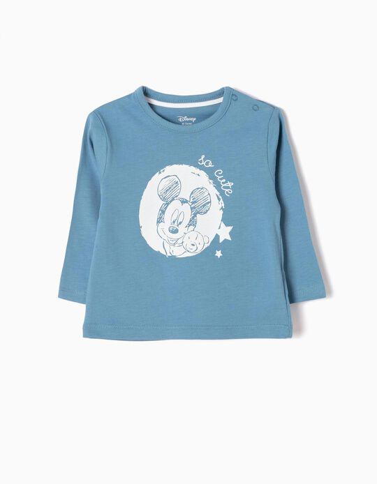 T-shirt Manga Comprida Mickey So Cute