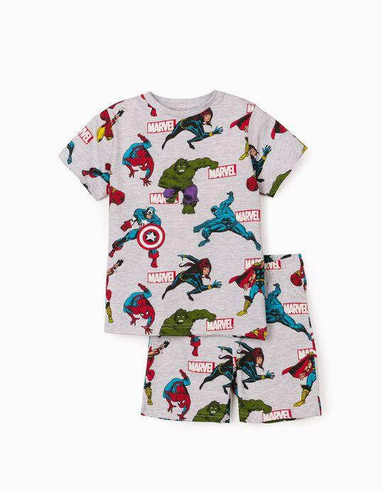 Pyjamas for Boys, 'Avengers', Grey