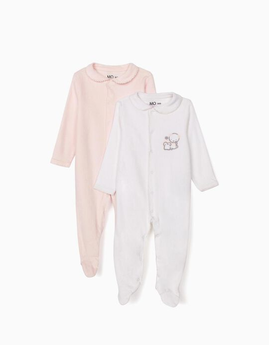 2 Footed Sleepsuits
