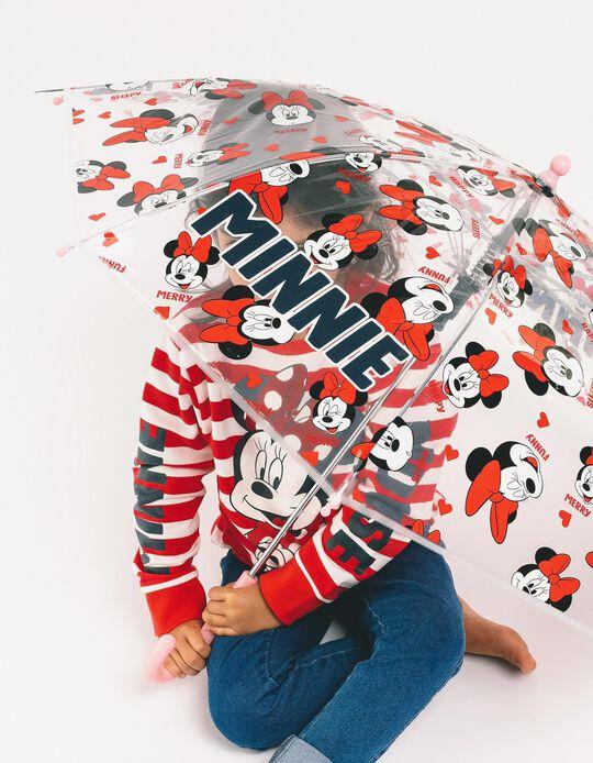 Umbrella for Girls 'Minnie', Transparent