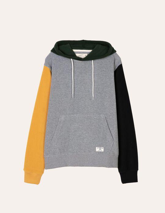 Sweatshirt em malha polar