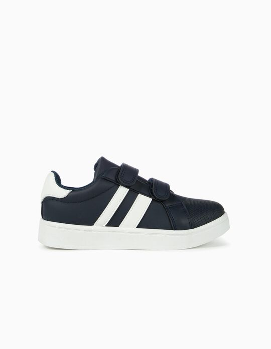 Trainers for Kids 'ZY', Dark Blue/White