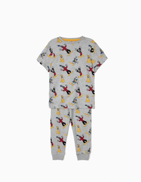 Pijama para Menino 'Mickey & Friends', Cinza