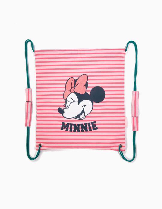 Mochila Saco Minnie Rosa
