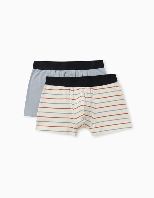 2 Pairs of Assorted Boxer Shorts for Men