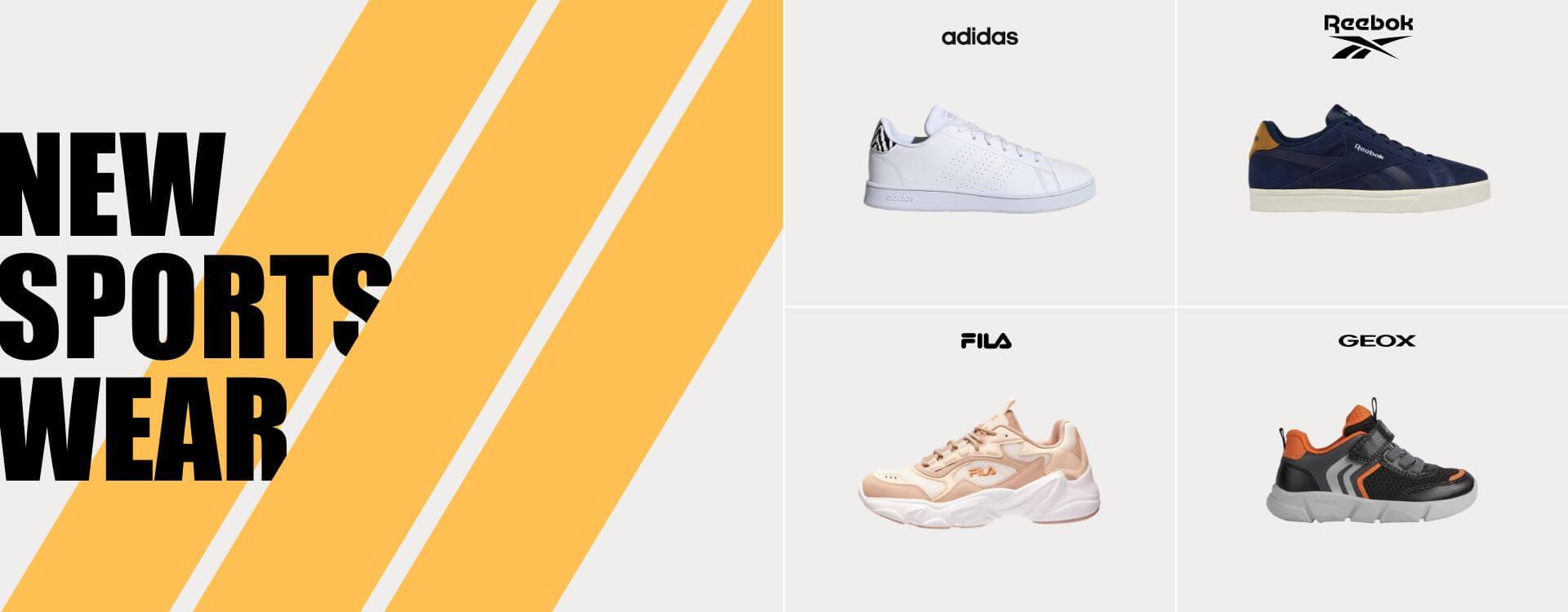 Grandes Marcas | Adidas | Reebok | Geox | Fila